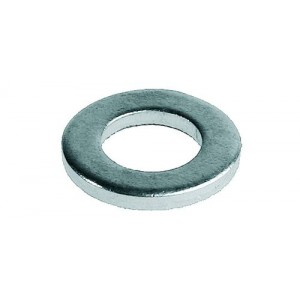 Шайба оцинкованная DIN 125A,  10 мм (1кг-300 шт)